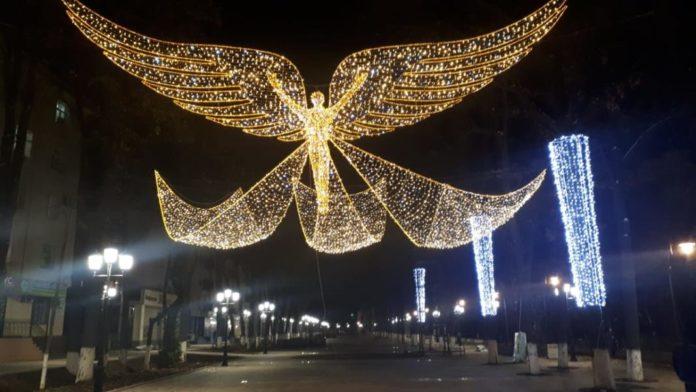 У Шымкента теперь есть свой ангел
