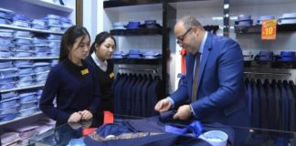 """ТС """"Изуми""""порадует мужчин Шымкента новой коллекцией итальянской одежды"""