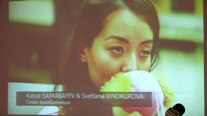 """Кайрат Сапарбаев презентовал альбом авторской песни """"Гимн любви"""" /Видео/"""