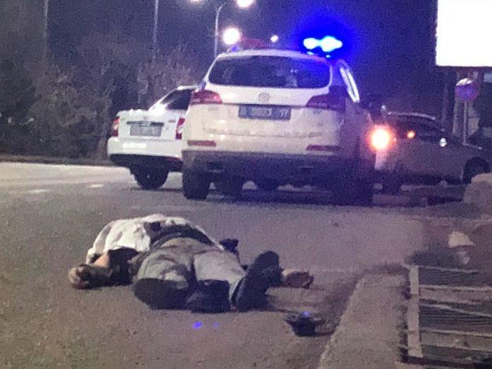 Этой ночью возле рынка Коктем погиб пешеход