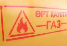 Пожароопасно - газ