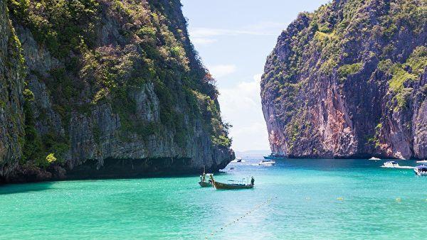 пляж на острове Пхи-Пхи