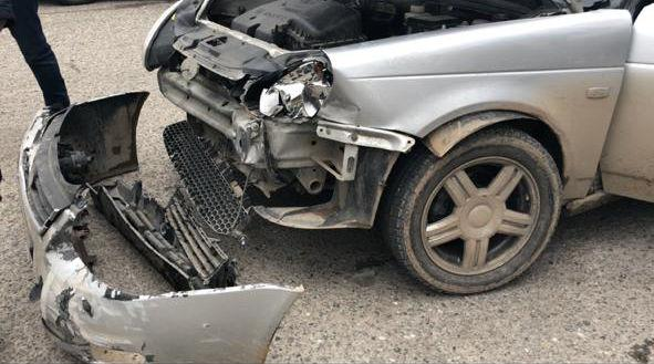 В Шымкенте в ДТП пострадала беременная женщина (видео)