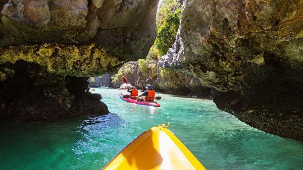Hidden Beach на филиппинском острове Палаване