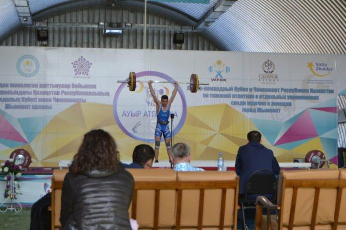 В Шымкенте завершился лично-командный Кубок и Чемпионат РК по тяжелой атлетике