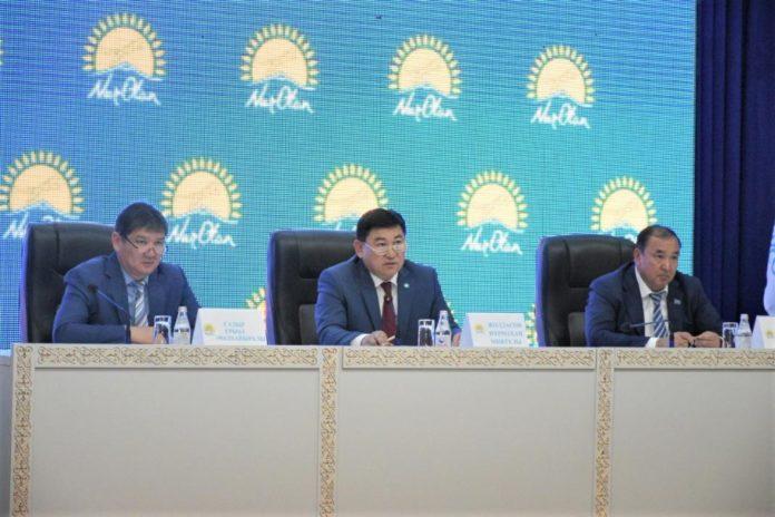 Конференция партии «NurOtan»