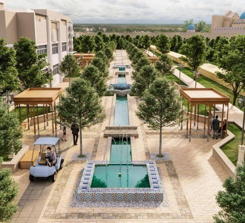 строительство, Туркестан