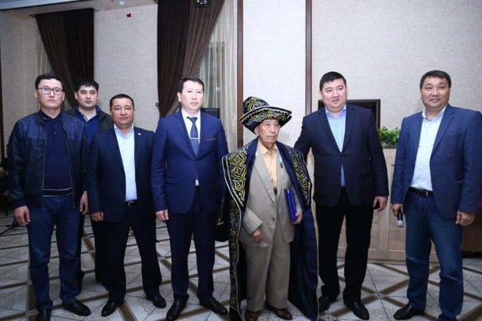 90 летний юбилей отметил ветеран органов прокуратуры Мусали Жорабаев