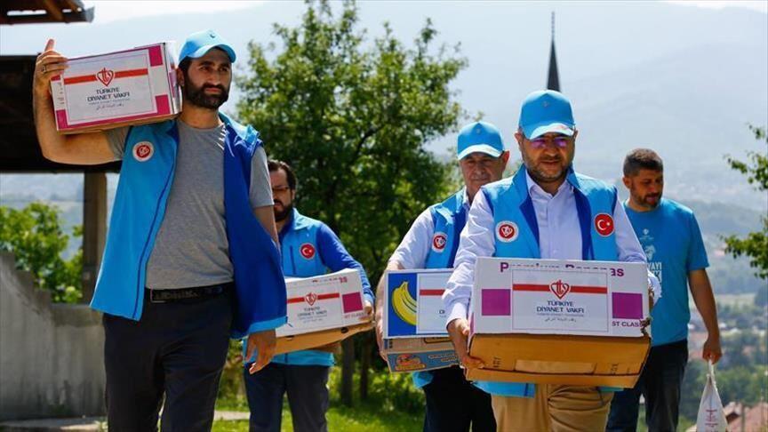 Турция, гуманитарная помощь