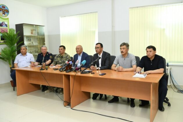 пресс-конференция по ситуации в Арыси