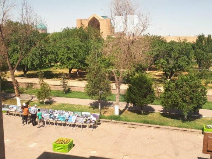 В Туркестане прошла фотовыставка