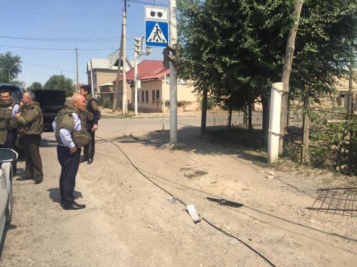 Умирзак Шукеев на объектах Арыси после взрывов