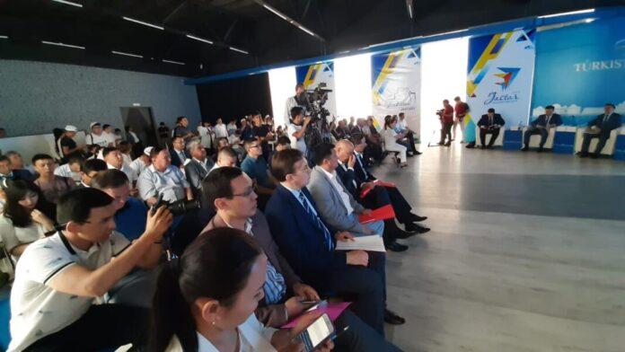 пресс-конференция, посвященная годовщине образования Туркестанской области
