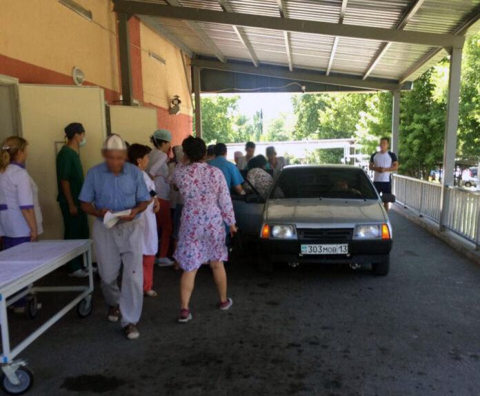 В Шымкент доставлены первые пострадавшие от взрыва