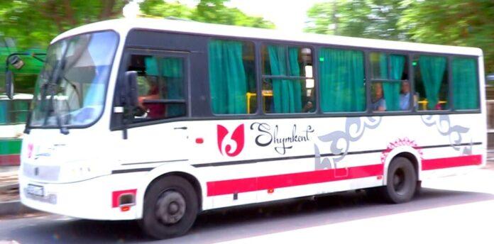 Автобус в Шымкенте