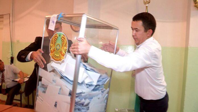 В Шымкенте начали подсчёт голосов за кандидатов в президенты Казахстана