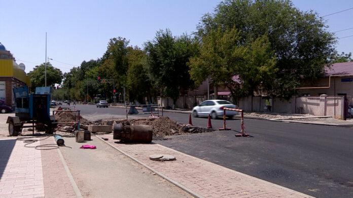 Ремонт улицы Байтурсынова