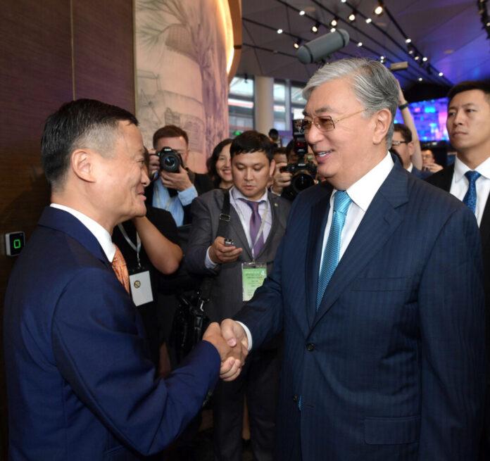 Касым-Жомарт Токаев провел встречу с основателем компании «Alibaba Group» Джеком Ма