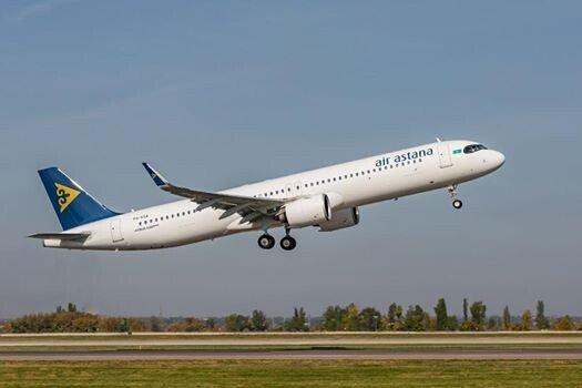 самолет Аир Астана
