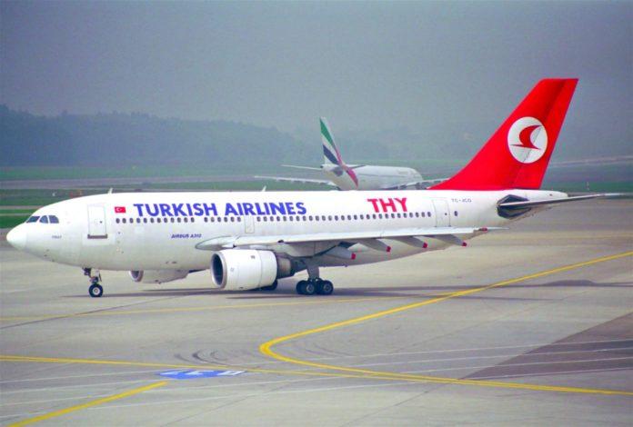 Turkish_Airline самолет
