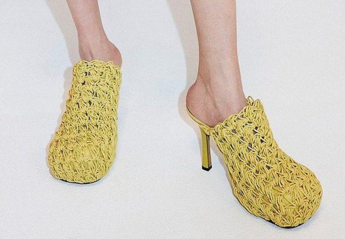 обувь из лапши