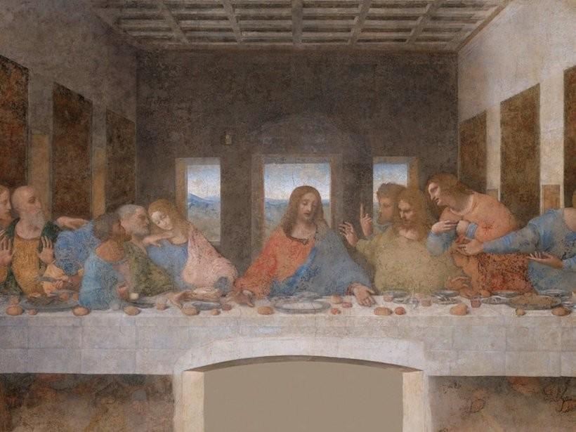 Картина «Тайная вечеря», Милан, Италия