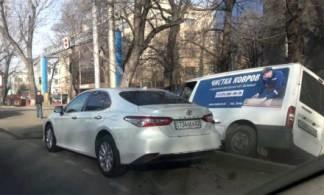 авария в Алматы