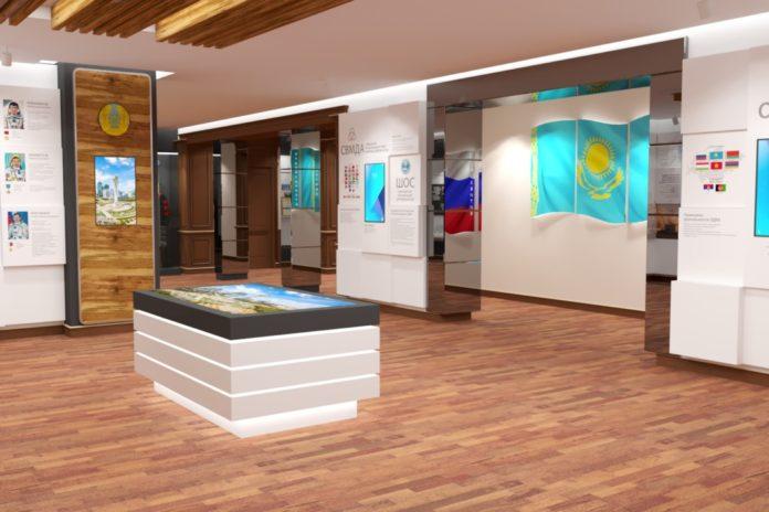Музей посольства, посвященный отношениям Казахстана и России