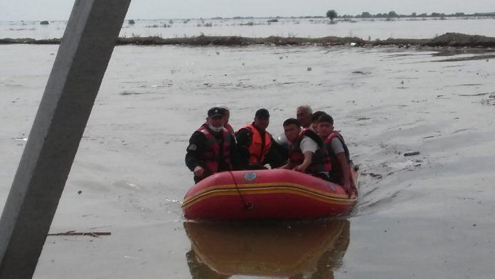 Потоп в Мактааральском районе