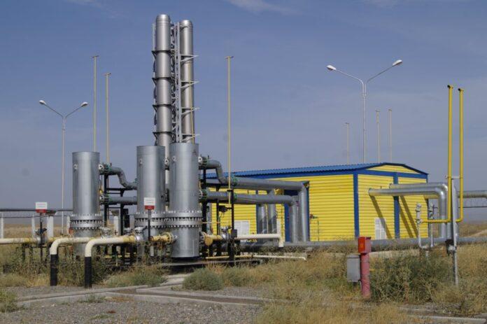природный газ, газ станция