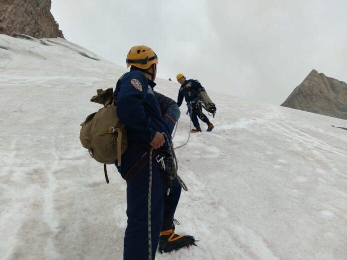 ледник спасатели