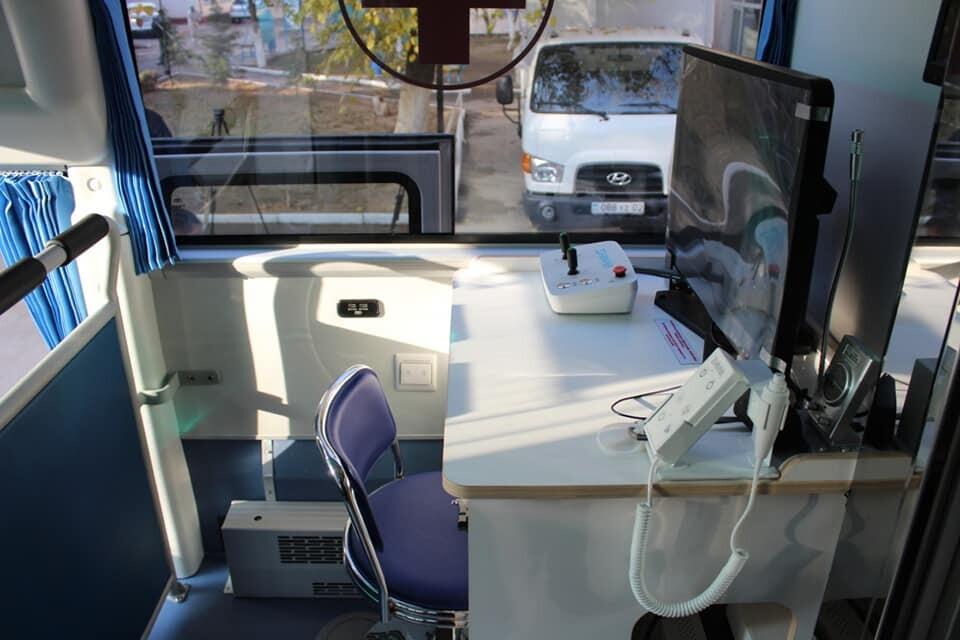 передвижной медицинский комплекс