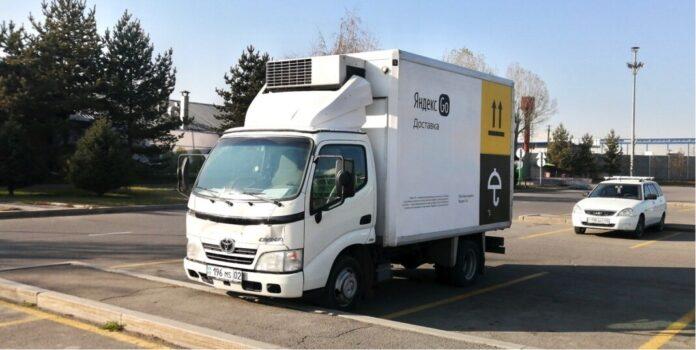 грузовик Яндекс