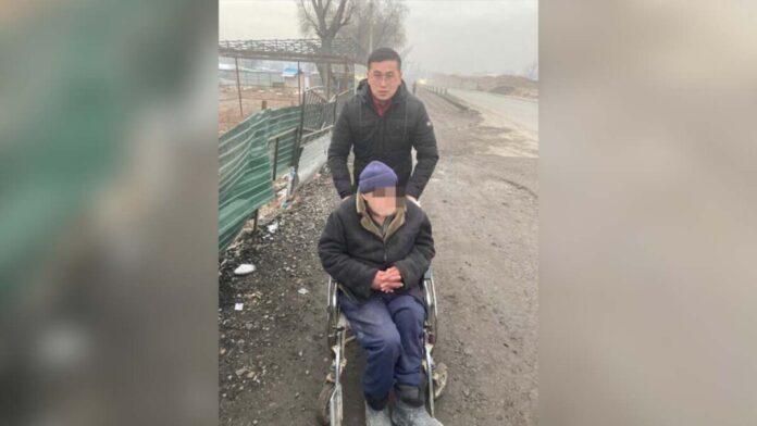 инвалид-колясочник