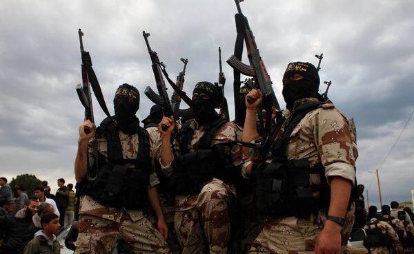 Терроризм. Боевики