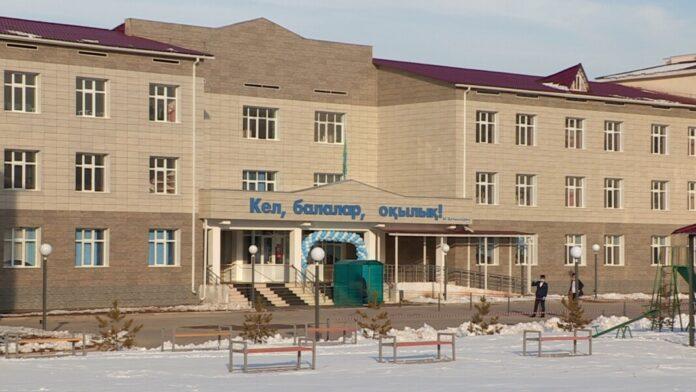135 школа в микрорайоне Шымсити