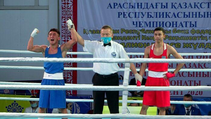 В Шымкенте завершился чемпионат РК по боксу среди молодежи