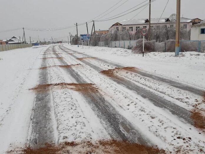 дороги очищены от снега