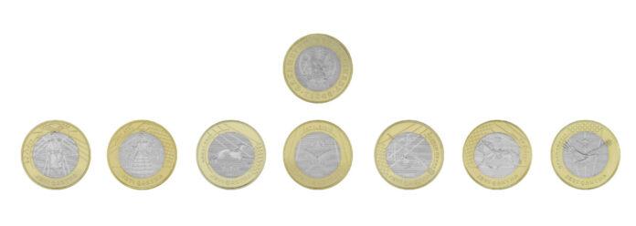 коллекционные монеты JETI QAZYNA