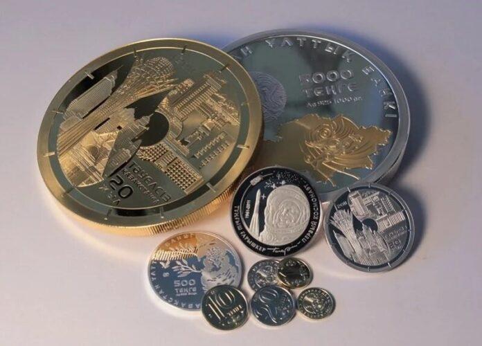 монеты национальной валюты