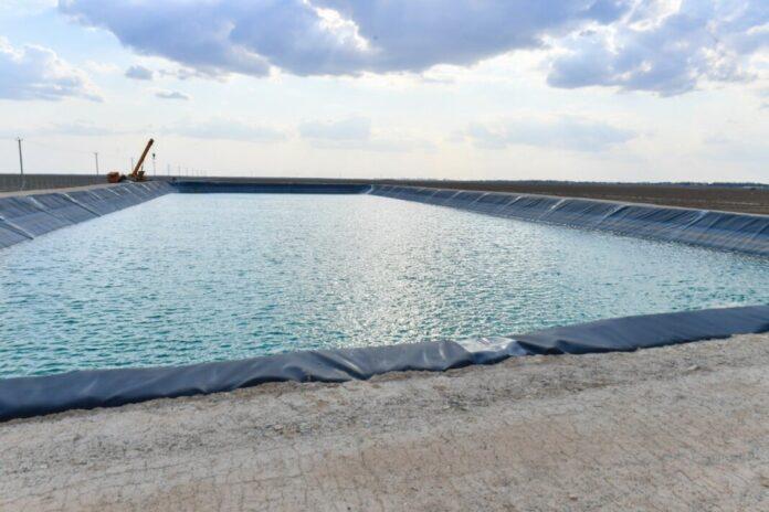новое водохранилище