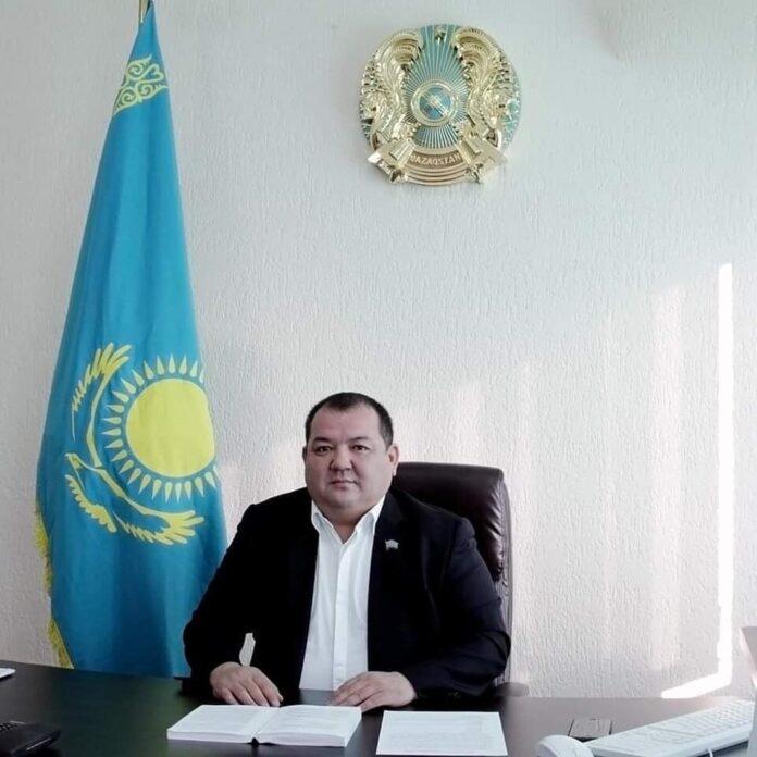 руководитель городского управления физической культуры и спорта Шымкента