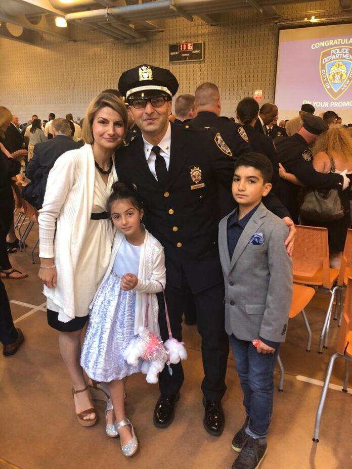 Игорь Пинхасов с семьей